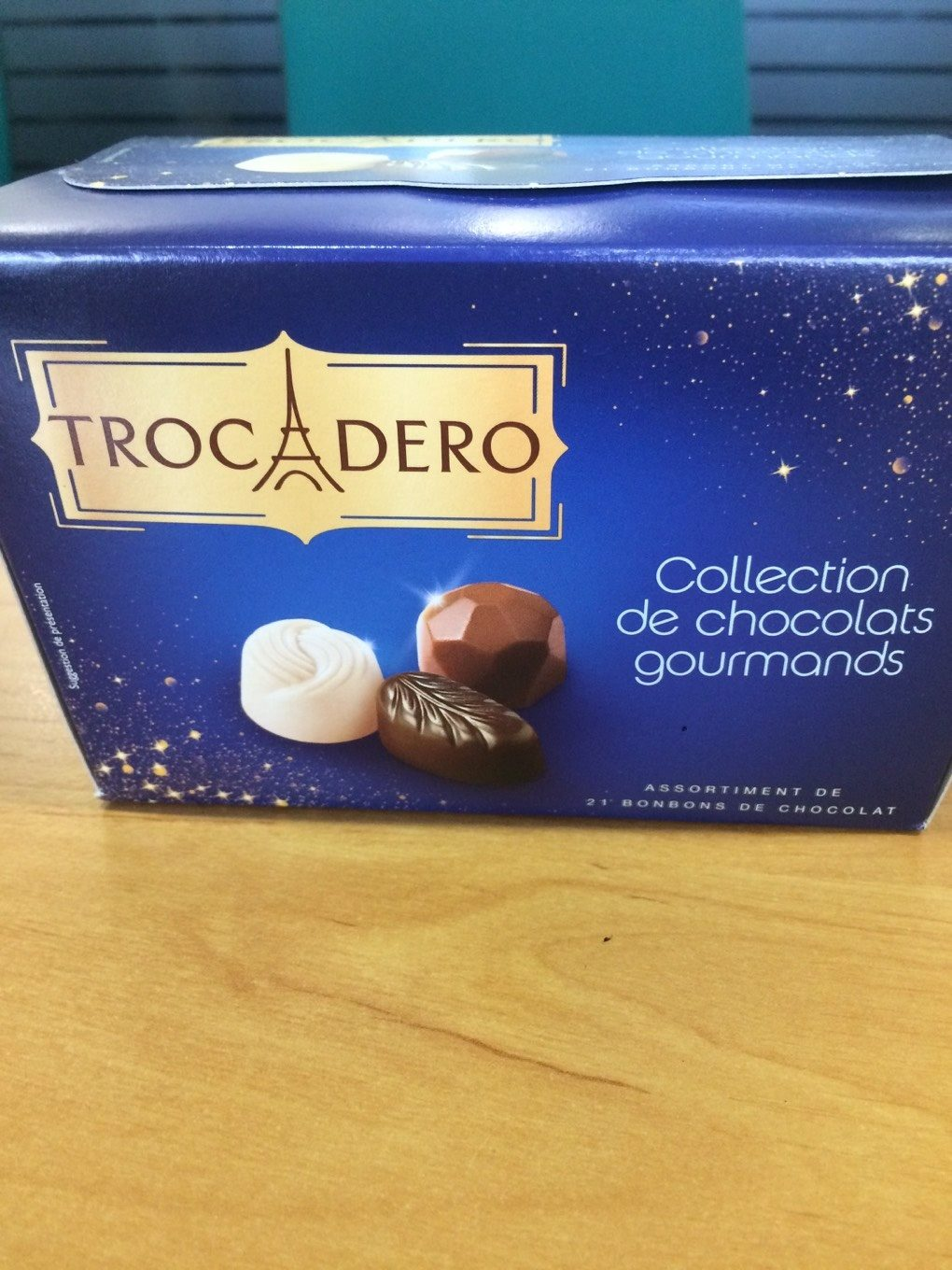 Collection chocolats gourmands - Product