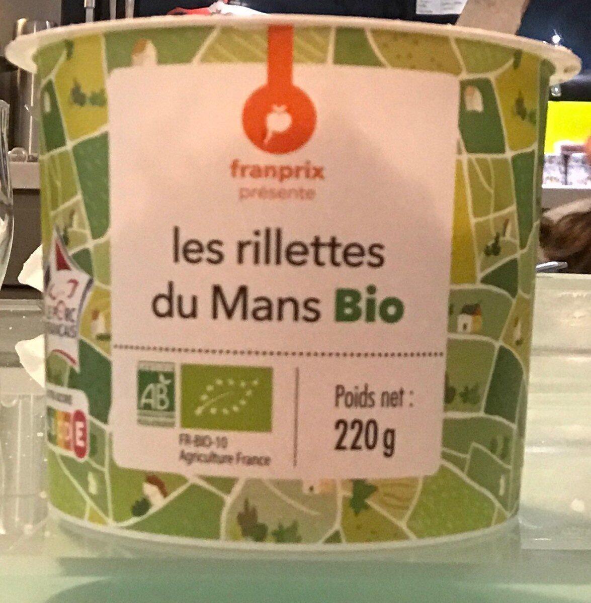 Les Rillettes du Mans Bio - Produit - fr