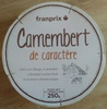 Camembert de caractère (21 % MG) -