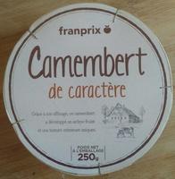 Camembert de caractère (21 % MG) - Produit - fr