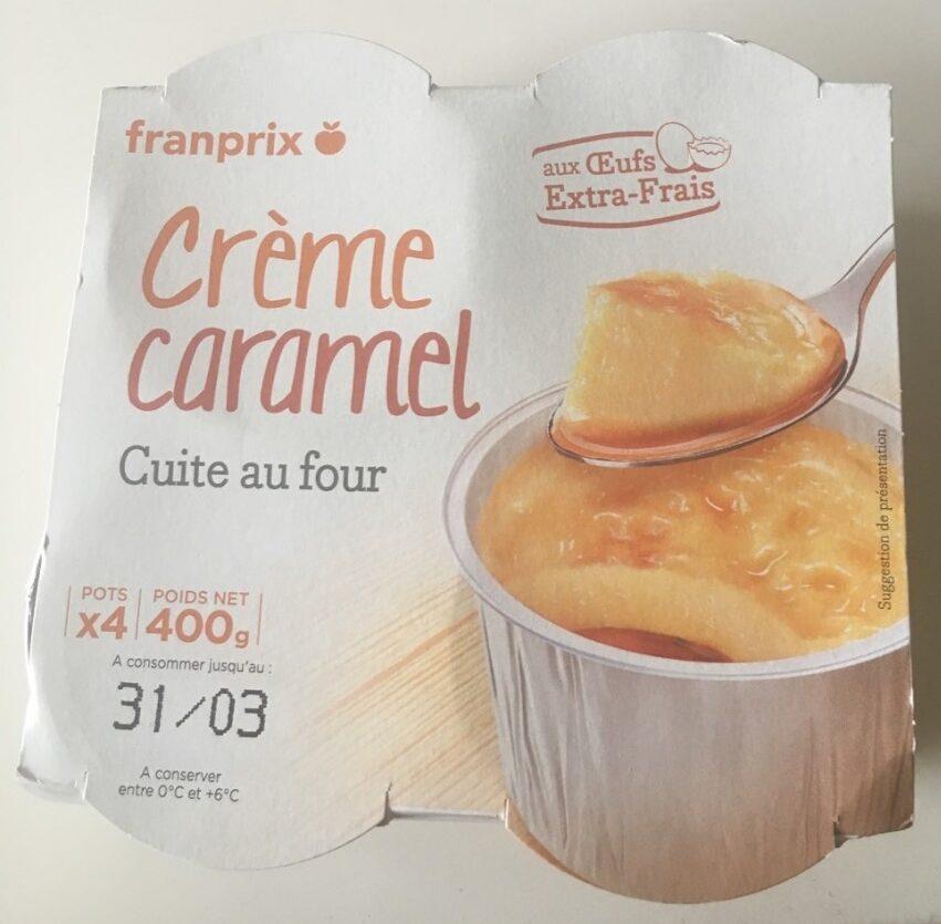 Crème Caramel aux Oeufs Frais - Produit - fr