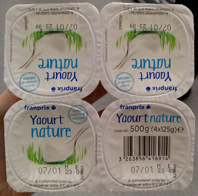Yaourt nature - Product