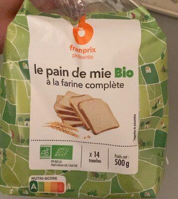 Pain complet bio - Prodotto - fr