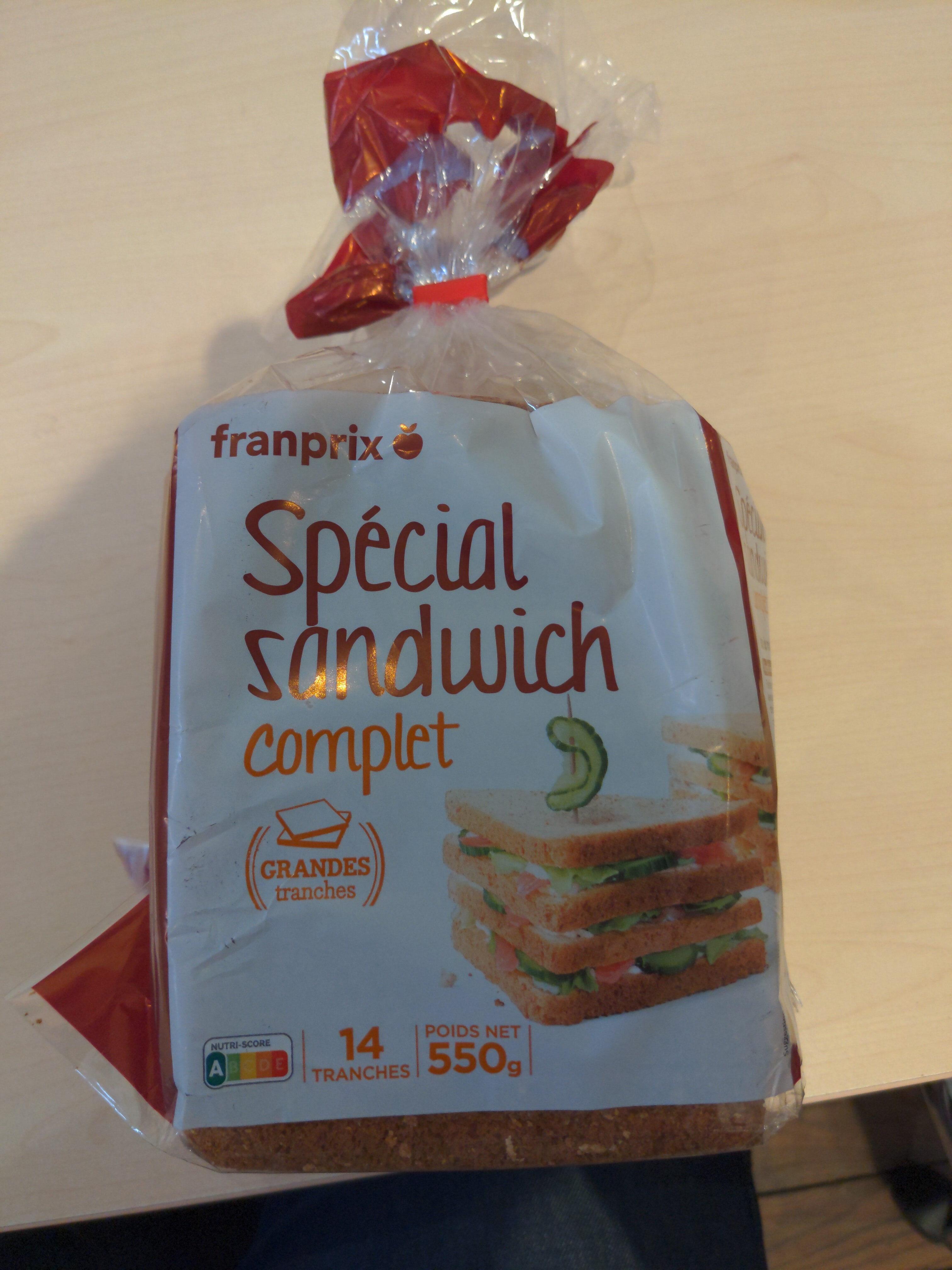 Spécial sandwich complet - Prodotto - fr