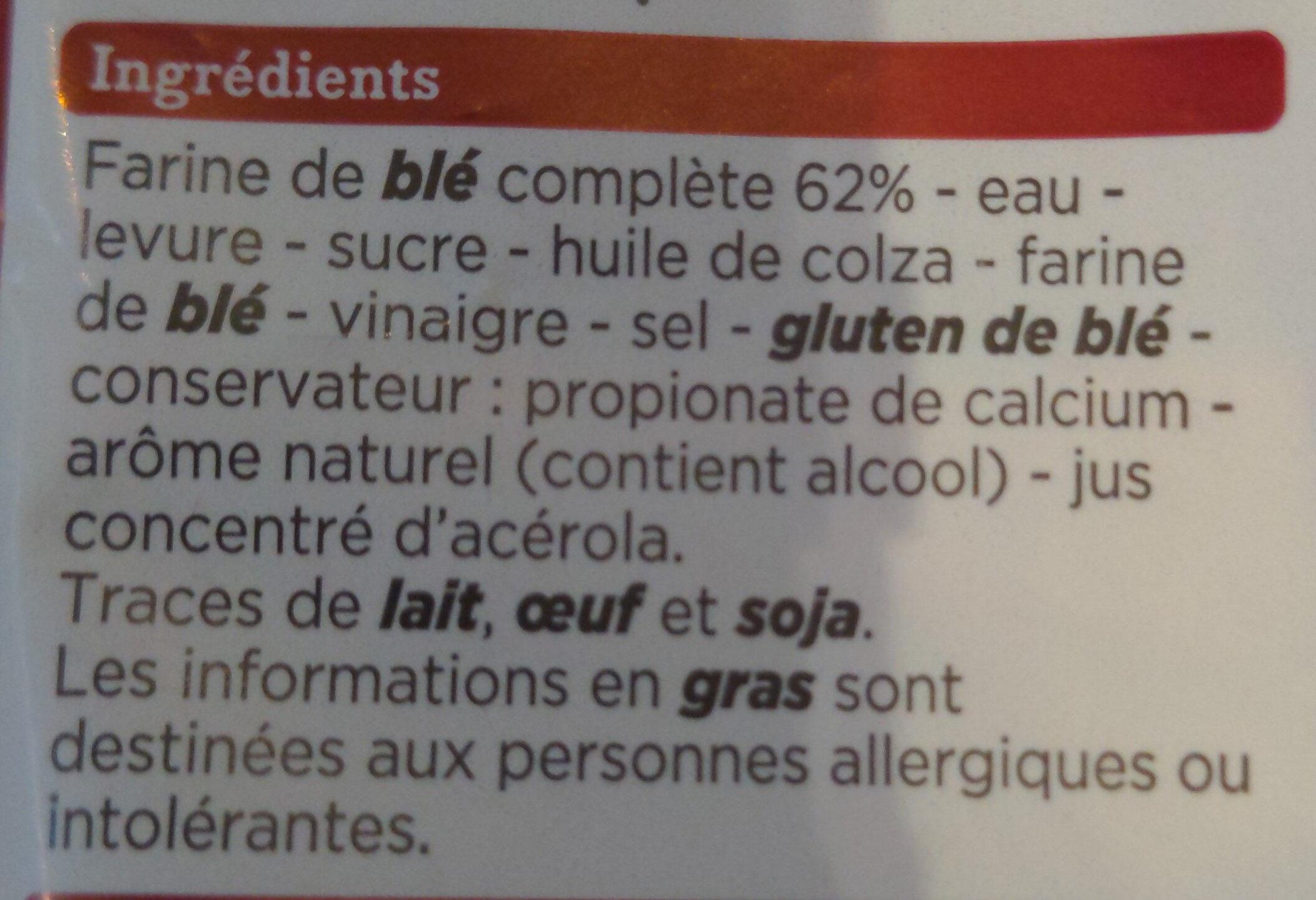 Spécial sandwich complet - Ingredienti - fr