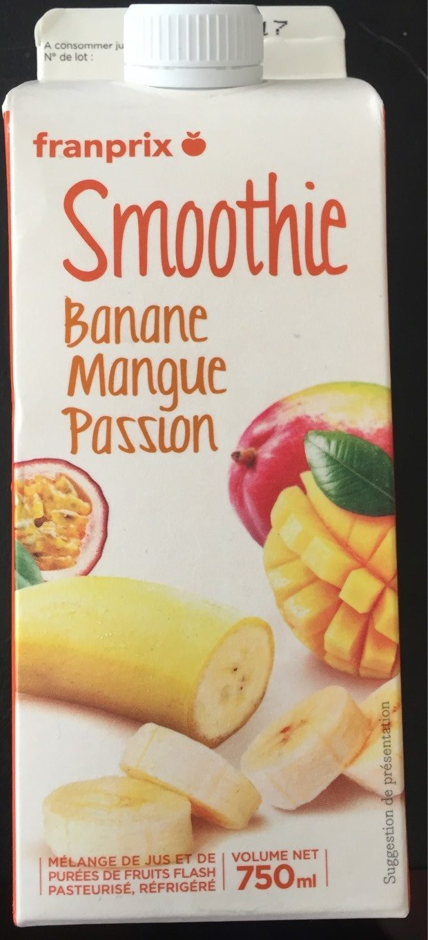 Smoothie Banane Mangue Passion - Product