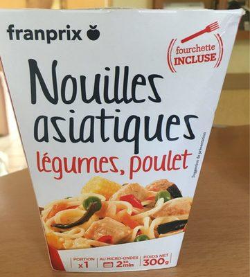 Nouilles Asiatiques Poulet Légumes - Product - fr