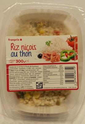 Riz niçois au thon - Produit - fr