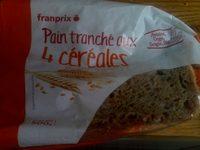 Pain tranché aux 4 céréales - Produit - fr