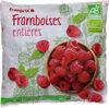 framboises bio - Produit
