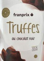 Truffes au chocolat noir - Produit