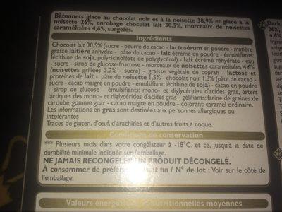 Xtra - Ingredients - fr