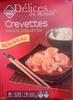 Crevettes sauce piquante, Surgelé - Produkt