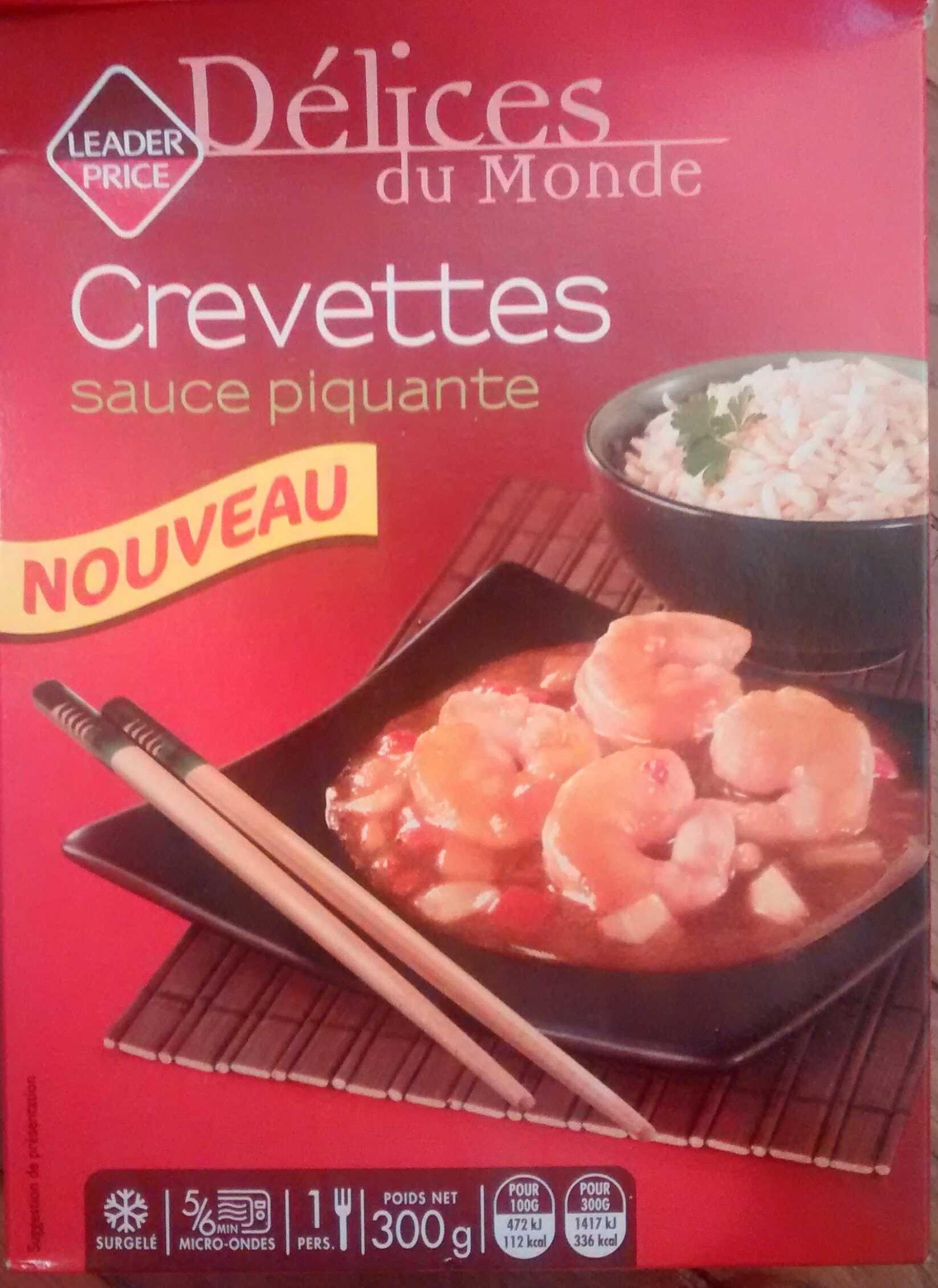Crevettes sauce piquante, Surgelé - Produit
