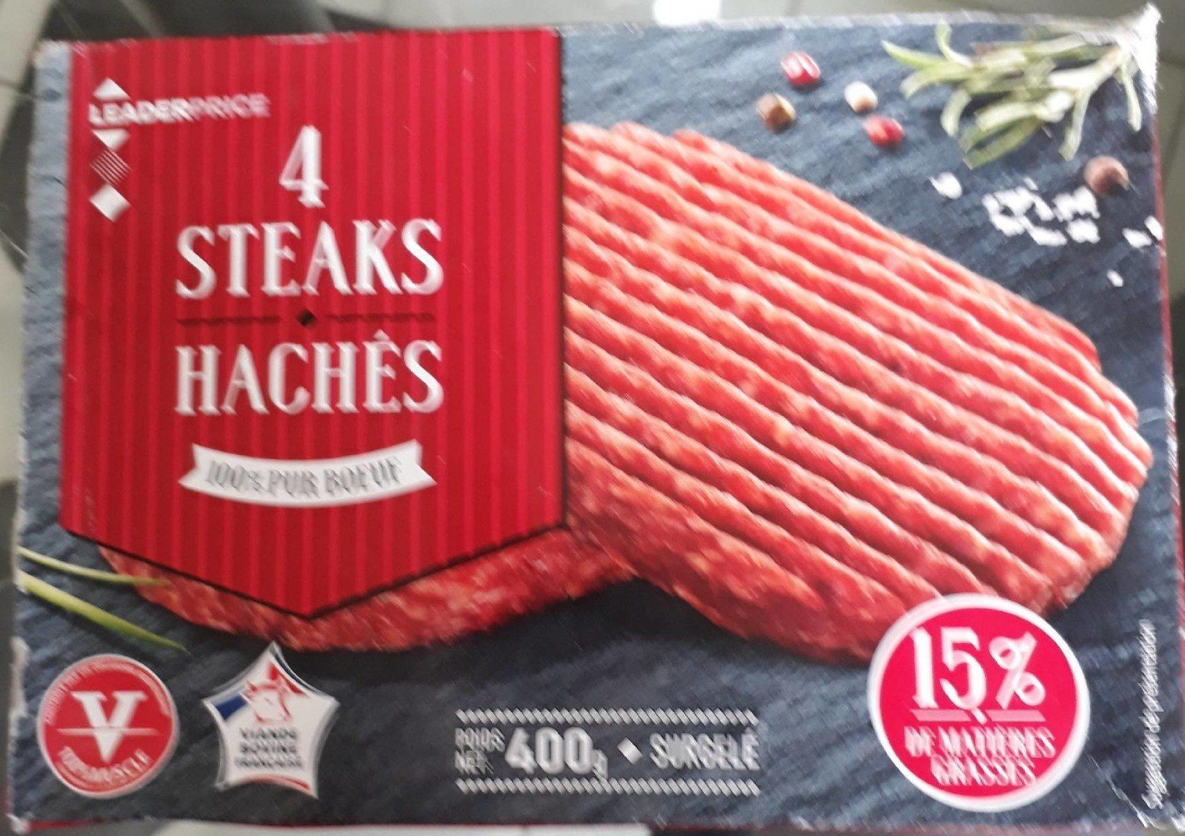 Steaks hachés surgelés - Prodotto - fr