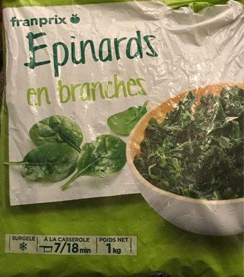 Épinards en branche - Prodotto - fr