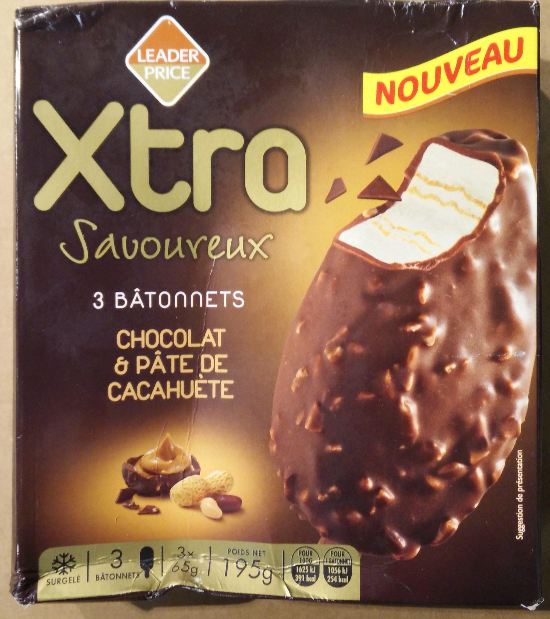 Xtra Savoureux Chocolat & Pâte de Cacahuète - Produit - fr