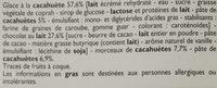 Xtra Savoureux Chocolat & Pâte de Cacahuète - Ingrédients - fr