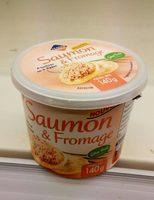 Saumon & fromage - Produit - fr