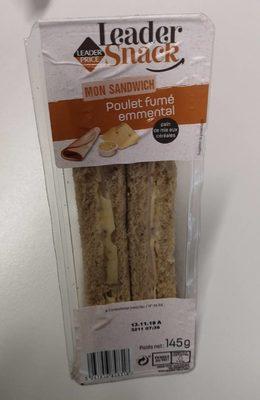 Sandwich poulet fumé Emmental - Prodotto - fr