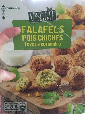 Falafels pois chiches fèves et coriandre - Product