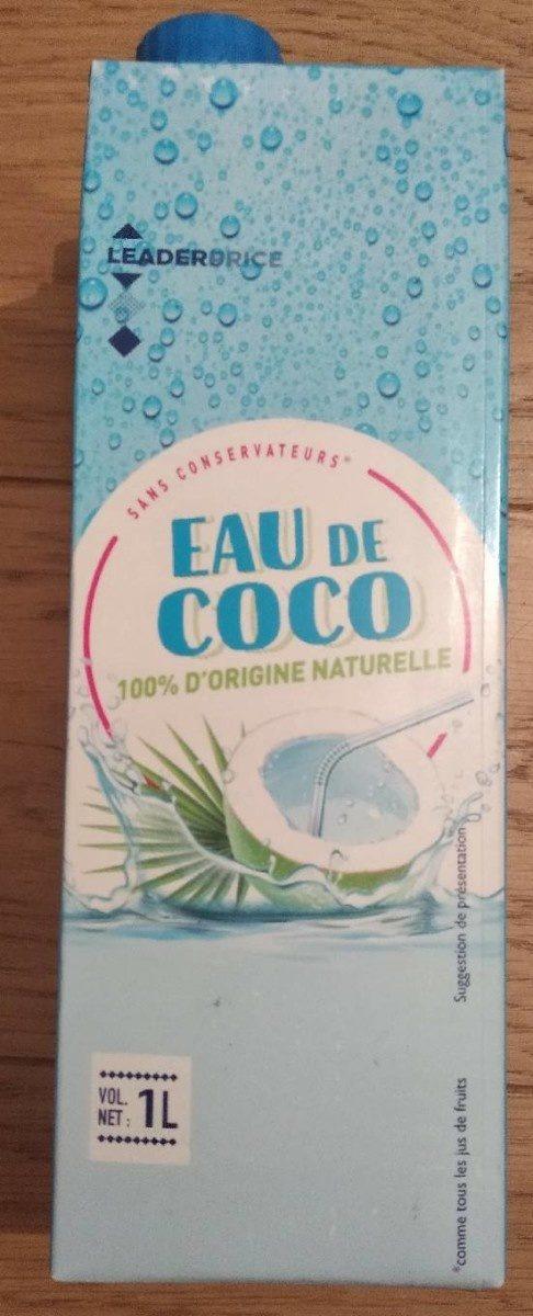 Eau de coco 100% d'origine naturelle - Prodotto - fr