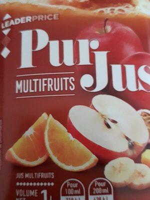 Pur jus multifruits - Produit