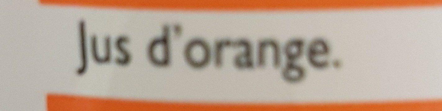 Pur jus d'orange sans pulpe - Ingredientes