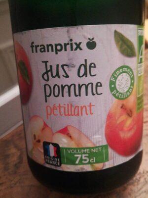 Jus de pomme pétillant - Produit - fr