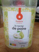 Le nectar de poire - Prodotto - fr