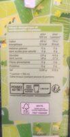 Eau de coco bio - Valori nutrizionali - fr