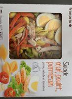 Salade Œuf, Poulet, Parmesan - Produit - fr
