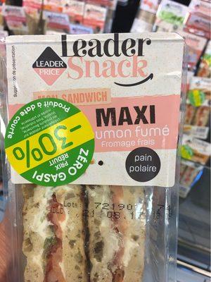 Sandwich Saumon Fumé Fromage Frais - Produit
