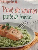 Pavé de Saumon Purée de brocolis - Produit