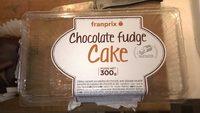 Chocolate fudge cake à partager - Produit - fr