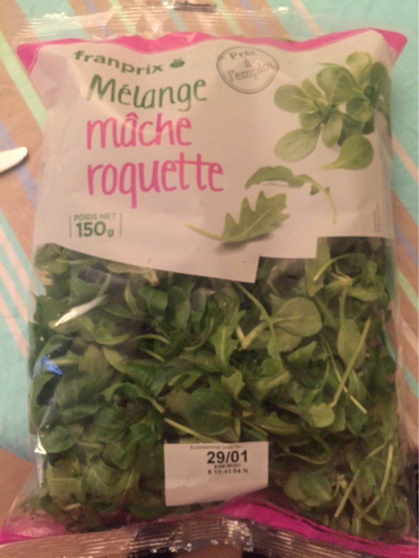 mélange mâche Roquette - Produit - fr