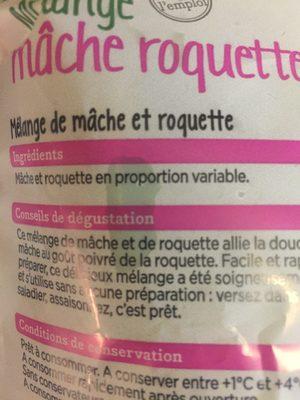 mélange mâche Roquette - Ingrédients - fr