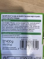Yaourt soja bio - Ingredients