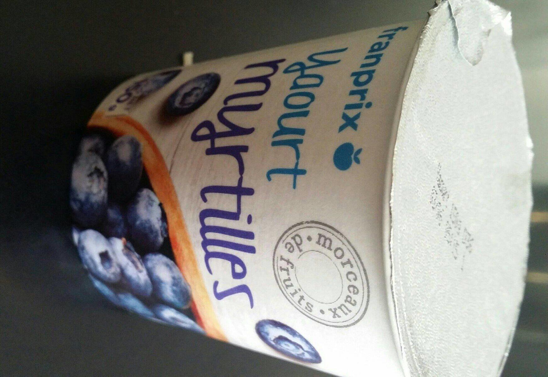 yaourt gourmand à la myrtille - Informations nutritionnelles - fr