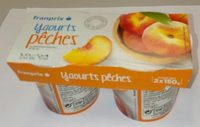Yaourts pêches - Product