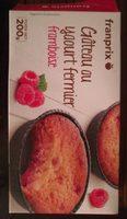 Gâteau aux yaourt fermier, framboise - Product
