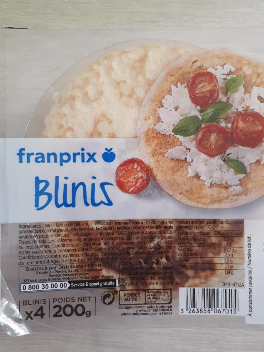Blinis - Product