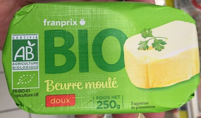 Beurre bio - Produit