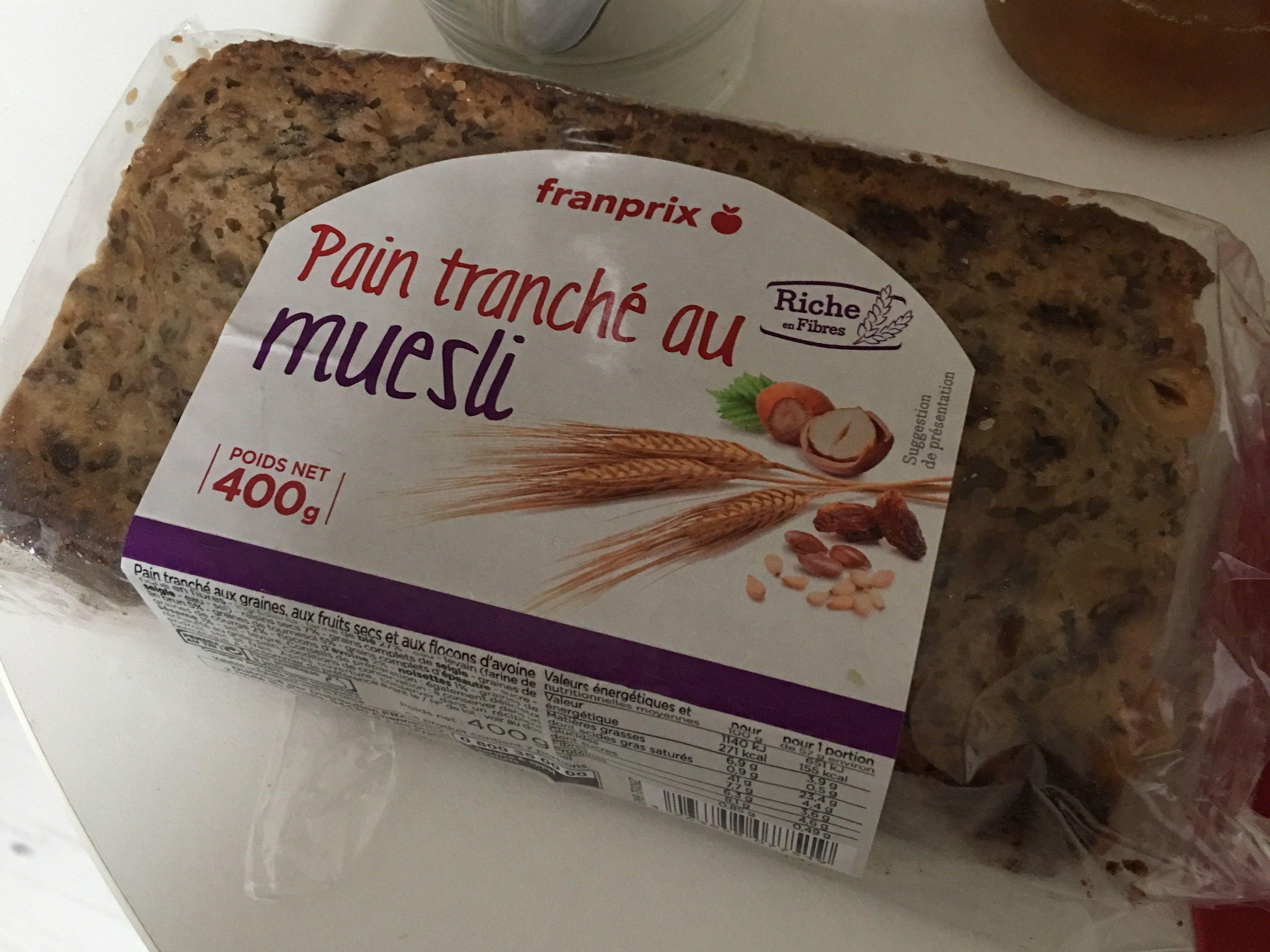 Pain tranché au muesli - Produit - fr