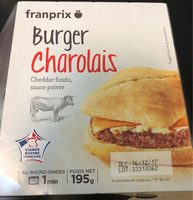 Burger charolais - Product