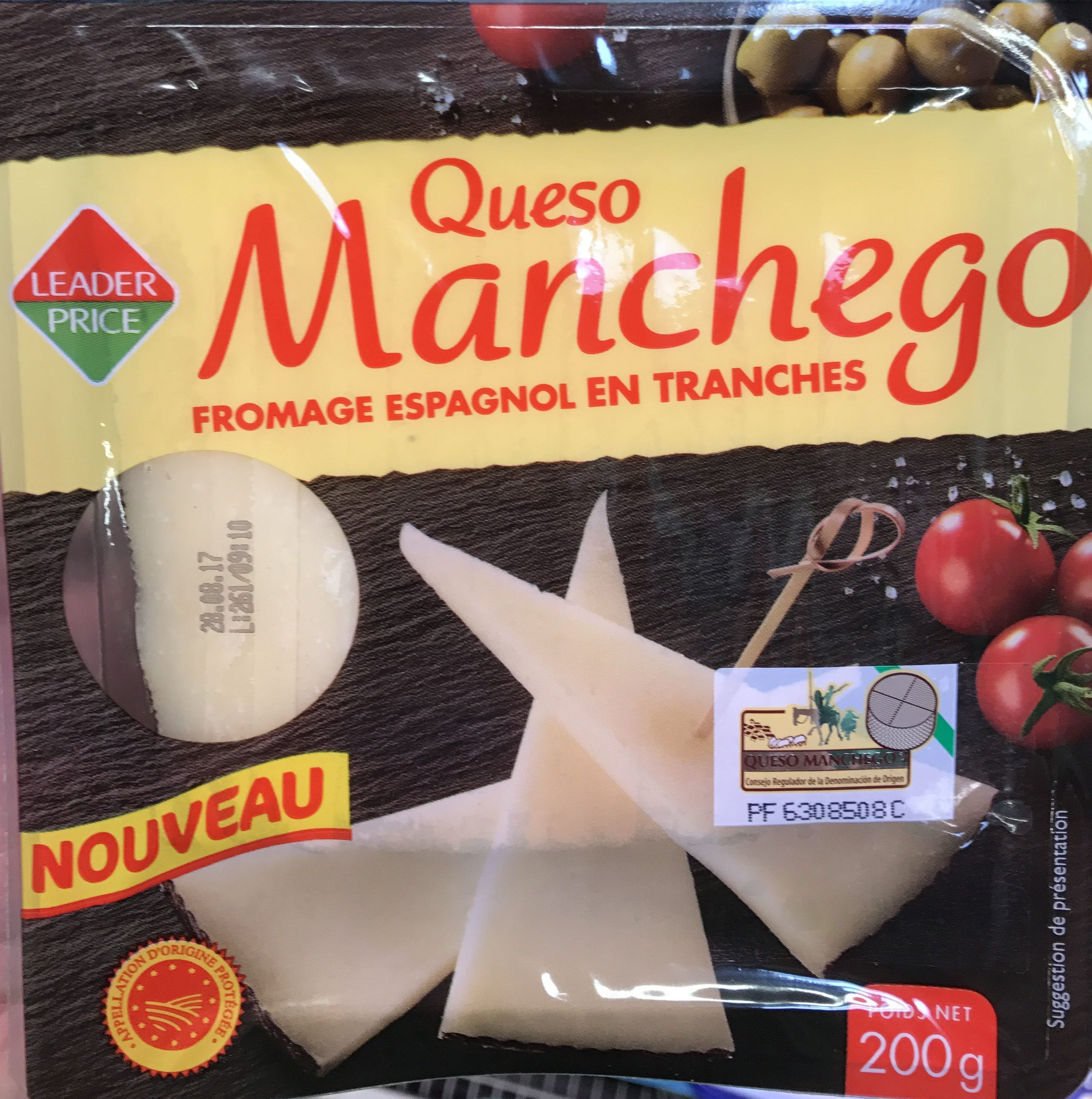 Queso Manchego - Product