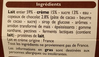 Yaourt a la grecque - Ingrediënten - fr