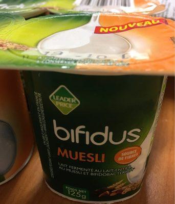 Bifidus musli - Produit - fr