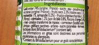 Bifidus musli - Ingrédients - fr