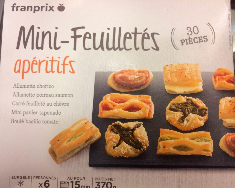 Mini-feuilletés aperitif - Product
